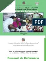 Guía de Actuación Personal de Enfermeria en La UNAP