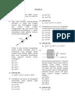 Soal Jawab Fisika - Rotasi Benda Tegar & Kesetimbangan
