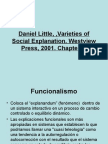 Daniel Little, ,Varieties of Social Explanation