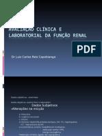 Avaliação Clínica e Laboratorial Da Função Renal - Agosto-2009