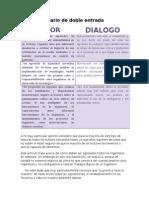 Diario de Doble Entrada unadm