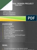 aae 251 design project presentation