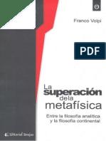 Volpi Franco - La Superación de La Metafísica