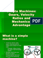 Simple Machines and Gears and their mechanical advantage.ppt