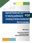 Improved Post Harvest Technologies