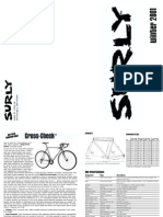 Surly Winter 2001 Catalog