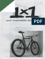 1998 Surly 1X1 catalog
