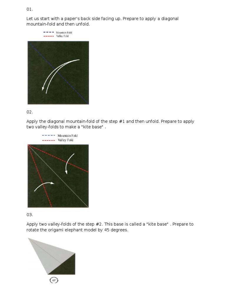 How to make origami elephant jeuxipadfo Image collections