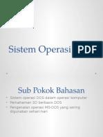 Sistem Operasi DOS - Ok