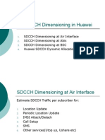 SDCCH Dimensioning in Huawei