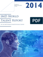 IMD World Talent Report 2014bis