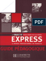 Objectif Express Guide Pedagogique A1/A2