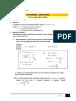 Ecuaciones cuadráticas M03