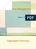 Chap012 - Aggregate Planning
