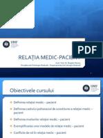 Curs 4 Relatia Medic–Pacient