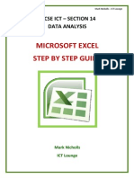 Data Analysis Step by Step Booklet - ICT