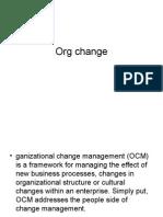 Org Change