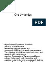 Org Dynamics