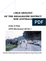 Field Geology of the Shoalhaven District John Paix 1970