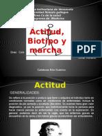 Semiologia- Actitud Biotipo y Marcha