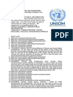 Workshop on Promoting Peace and Alleviating Poverty in Somalia