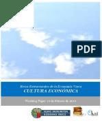 Retos Estructurales de la Economia Vasca. CULTURA ECONÓMIC