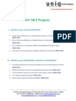 Dot Net Projects -IEEE 2014 v2
