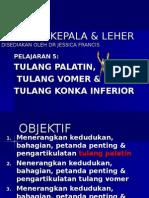 Notes ppt Pelajaran 5 - Tulang Palatin, Vomer & Konka Inferior
