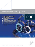 Radial Lip Seals