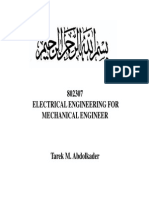 Lect01 Electrical Quantities and Laws Electrical Eng for Mech 802307