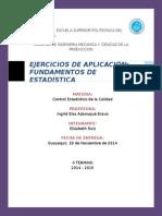 Ejercicios Fund Estadistica DE BESTERFIELD