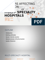 Factors Affecting Location of multi specialty hospital