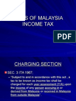 Basis of Malaysia Income Tax