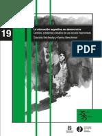La Educacion Argentina en Democracia Krichesky y Benchimol