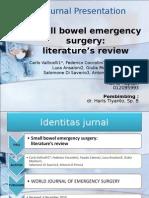 Journal Presentation Small Bowel