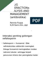 Drug Interactions Analysis and Management (Antibiotika)