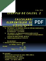 LP 8 Exemplu de Calcul 2
