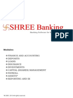 SHREE ERP - Banking Brochure