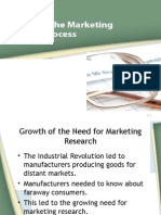 The Marketing Research Process and Industry
