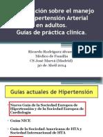 Actualizacic3b3n Sobre El Manejo de La Hipertensic3b3n Arterial