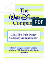 Disney - Final Accounting Project