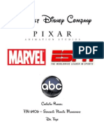 Disney vs TimeWarner Financial Ratio