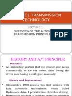 Advance Transmission Technology Lecture 1 22 Jan 2013