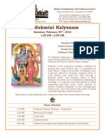 Sri Rukmini Kalyanam