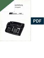 Betriebsanleitung Telefon_Faxgerät Leicomm100