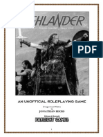 Unofficial Highlander Rpg
