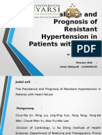The Prevalence and Prognosis of Resistant Hypertension in Patients With Heart Failure