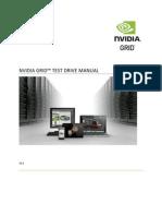 Grid Test Drivers Manual