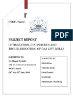 Report on Gas lift design, operation and troubleshooting