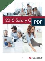 RobertHalf UK Salary Guide 2015